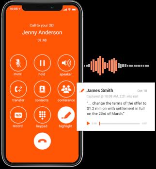 Voice productivity